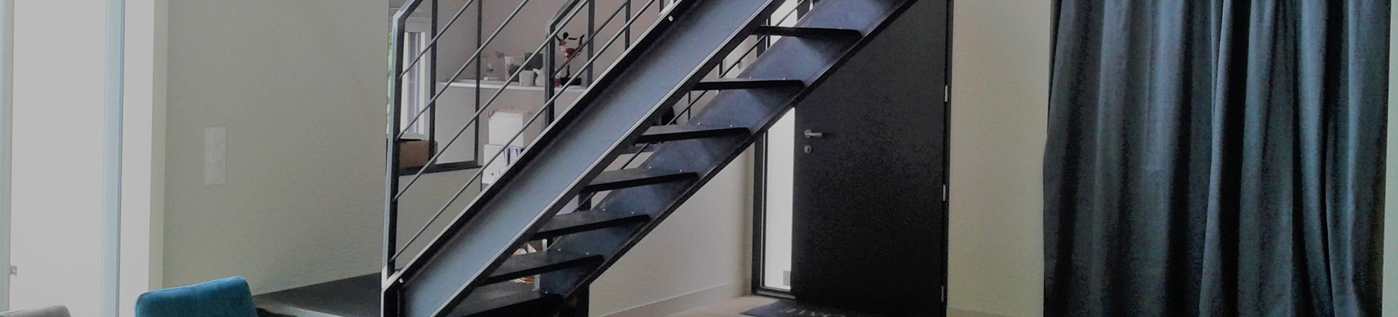 Metal 3D 49 Metallerie escalier La bohalle Angers