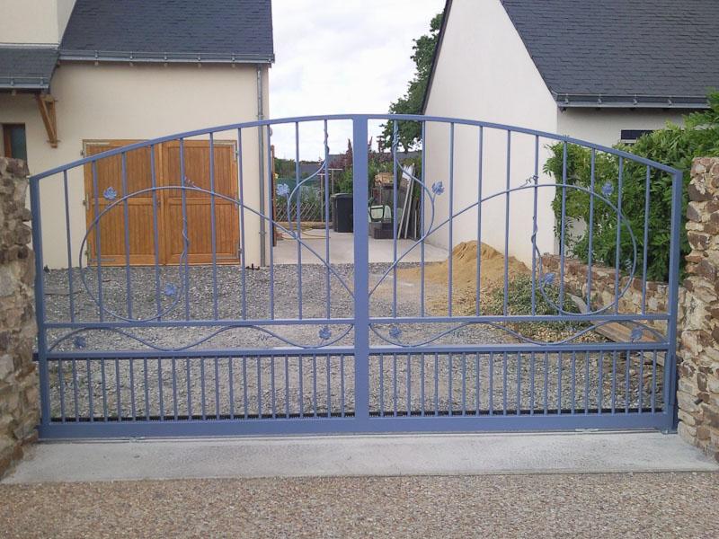 métal 3d angers creation pose portail