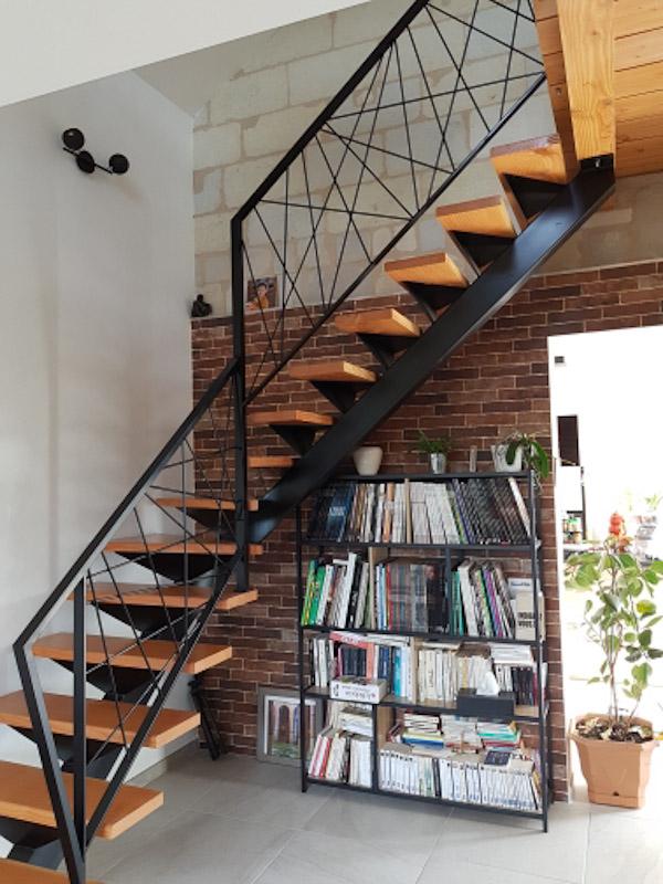 metal 3d angers escalier creation sur-mesure