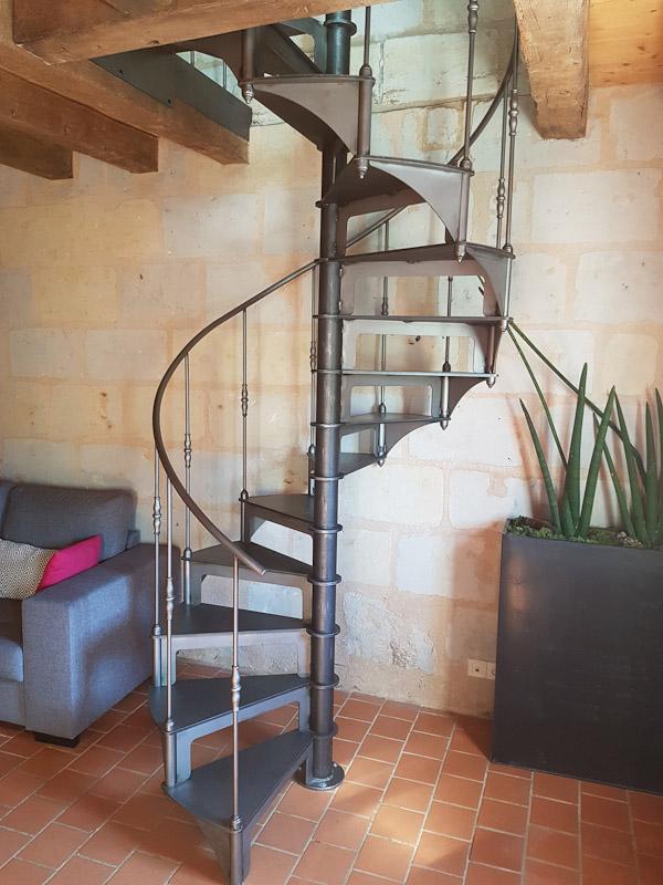 métal 3d angers pose creation escalier